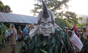 Curre Scary Mask - Photo by Dagmar Reinhard