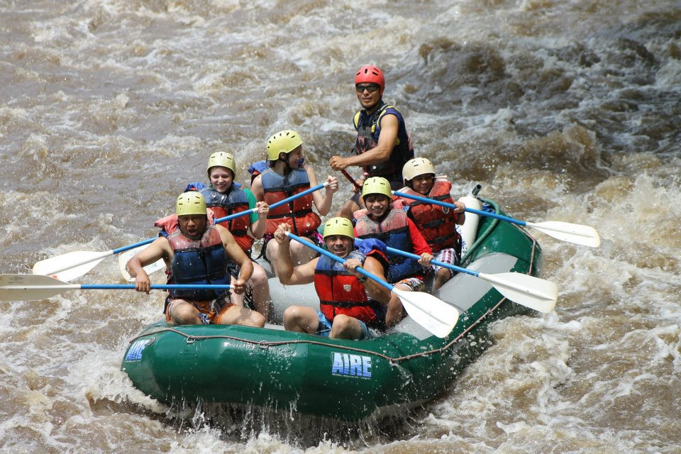 Rafting in Coto Brus River- South Pacific